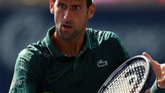 Novak Djokovic 2-0 Steve Johnson