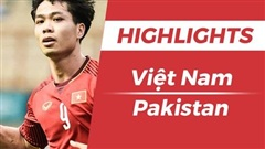Highlights Olympic Việt Nam 3-0 Olympic Pakistan