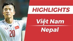 Highlights Olympic Nepal 0-2 Olympic Việt Nam