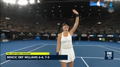 Venus Williams 0-2 Belinda Bencic